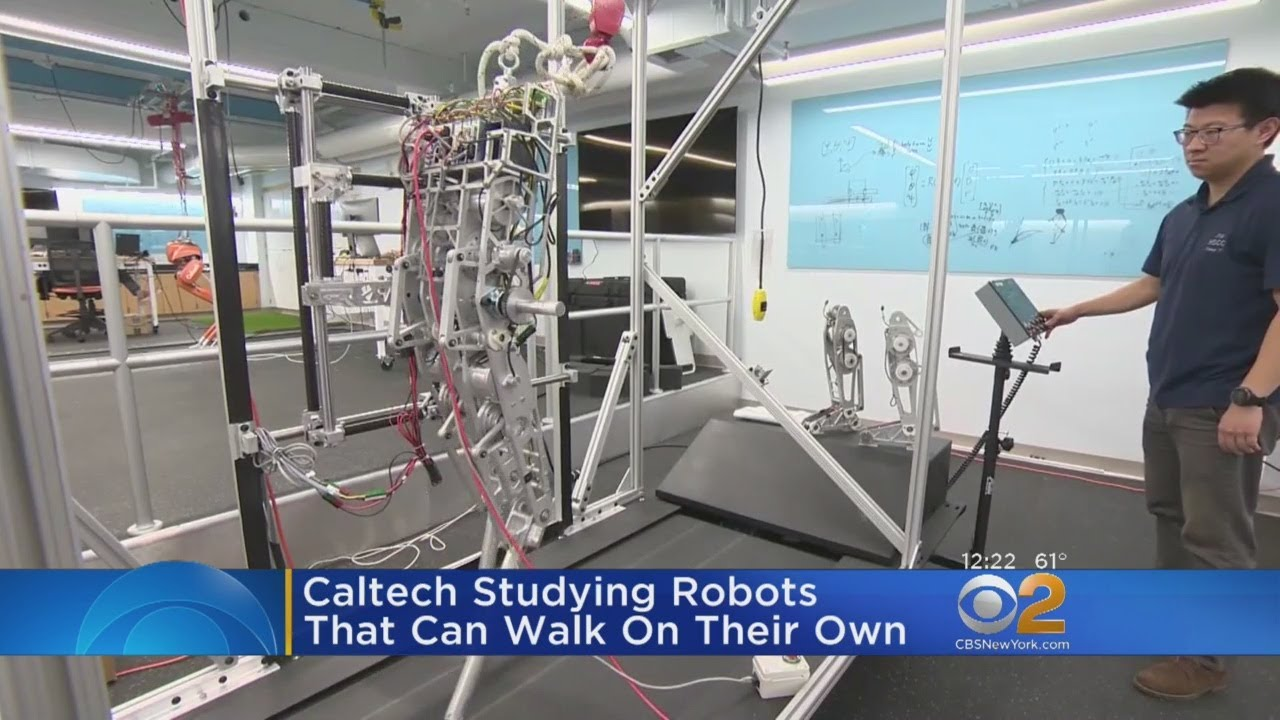 how to make a robot that can walk