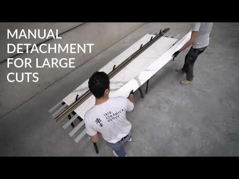 Corte de grandes formatos cerámicos