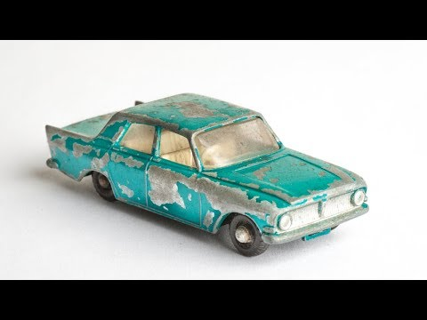 Matchbox Restoration No 33 Ford Zephyr Toy Car Custom