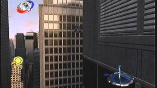 Frozen Helicopter in Spider-Man 3 The Game