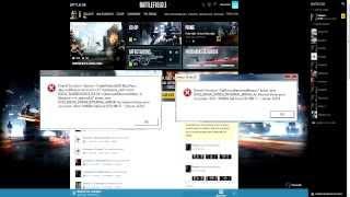 Battlefield 3/Battlefield 4 test Erreur Driver PhysX Direct X problème impossible de jouer