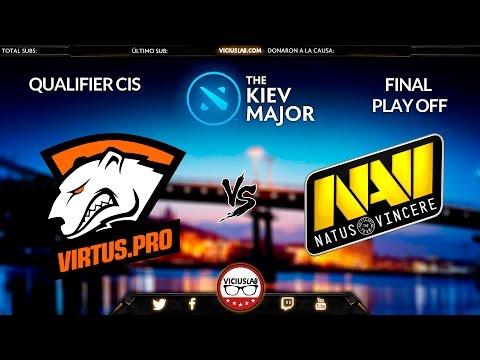NAVI vs VIRTUS PRO - 1 - Final CIS QUALIFIER - MAJOR de KIEV - Viciuslab