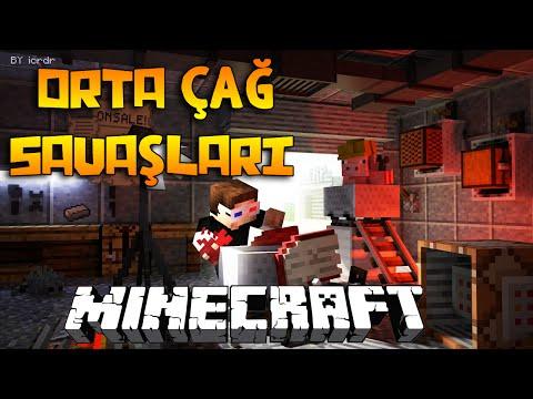 Minecraft'ta ORTA ÇAĞ SAVAŞLARI! (SAVAŞTA AĞIR YARALANDIM!)
