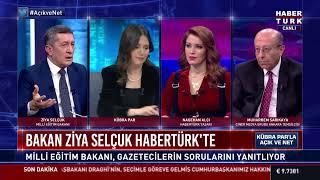Milli Eğitim Bakanı Ziya Selçuk Habertürk TV'de... #CANLI