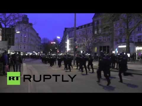 Germany: Police storm Hamburg protester barricades