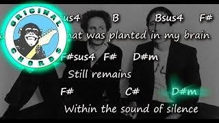 Simon And Garfunkel The Sound Of Silence Chords Lyrics