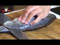 奶油洋菇鱸魚排附香芹馬鈴薯step2