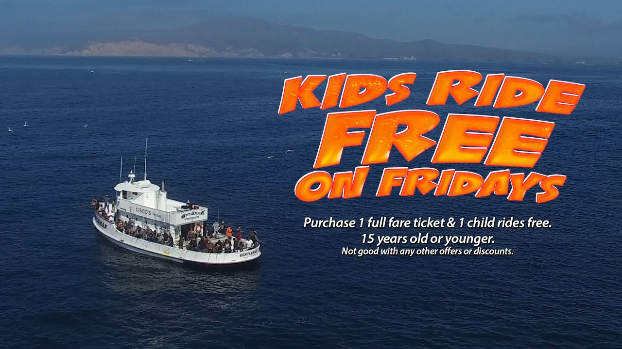 Kids fish free on the gentleman channel islands for Oxnard fishing report