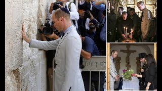 prince william visit middle east william prays at most sacred site accessible to jews