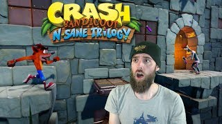 The Hardest Level In Crash | STORMY ASCENT New DLC [Crash Bandicoot N. Sane Trilogy]