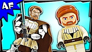 Lego Star Wars Obi-wan Kenobi Battle Figure 75109 Stop Motion Build Review