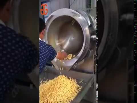 Popcorn Seasoning Machine For Commercial|Popcorn Flavoring Machine