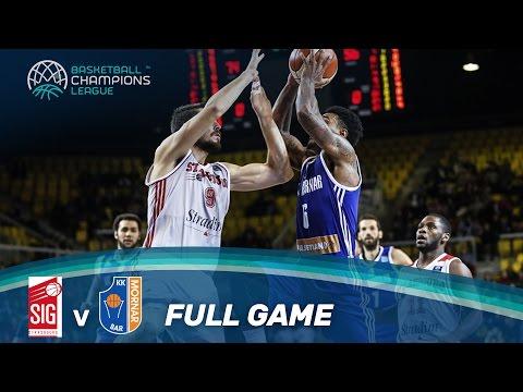 SIG Strasbourg v KK Mornar - Full Game - Basketball Champions League