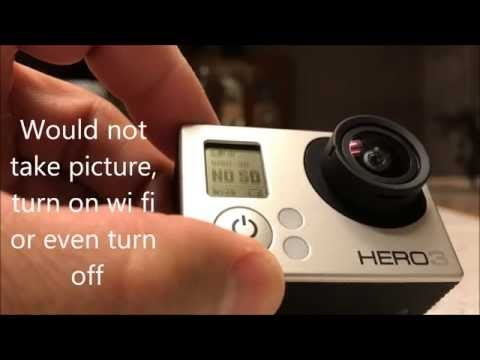 GoPro Hero3 No SD error
