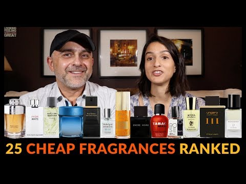 25 Cheap, Inexpensive, Budget Fragrances Ranked W/Ashley 💯💯💯