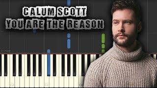 🎧 download free piano midi + pdf scores: https://www.freepianotutorials.net/2019/11/calum-scott-you-are-reason-piano.html 📌 related tutorials: 1. calum scott...