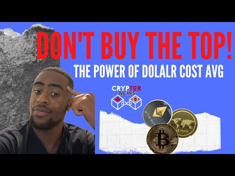 THE POWER OF DOLLAR COST AVERAGING – Best Crypto Investment Strategy For Beginners!