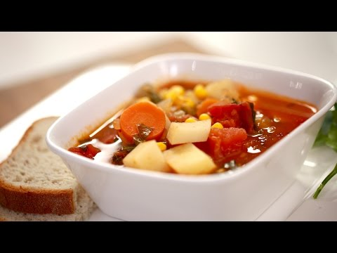 Adriene's Veggie Comfort Soup (CRAZY HAPPY COOKING)