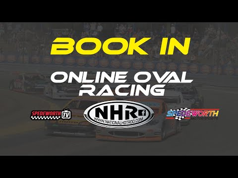 Online Oval Racing - Booking In