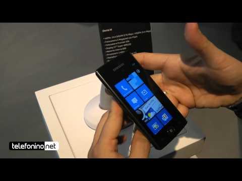Samsung Omnia W videopreview da Telefonino.net