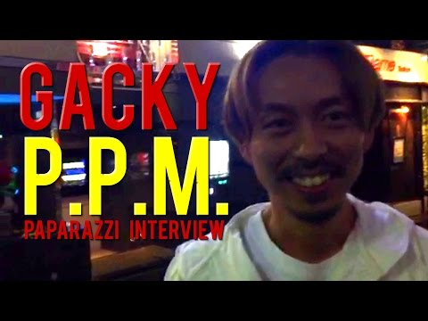 GACKY: 渋谷パパラッチP.P.M.インタビュー (SHOGANAI BOYZ Interview)