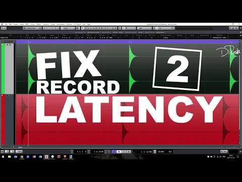 How to: FIX RECORD LATENCY SHIFTS IN CUBASE (Part #2)