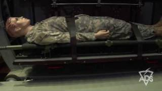 2009 Warrior Expo | CMS TacEvac Casualty Evacuation Litter Rack System