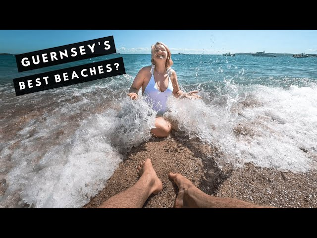 Beach Day in Guernsey | Stand-Up Paddleboard at COBO BEACH, Guernsey