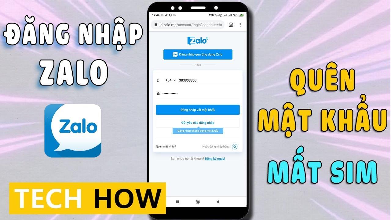 Cách đăng nhập Zalo khi quên mật khẩu và mất số điện thoại | MÊ THỦ THUẬT