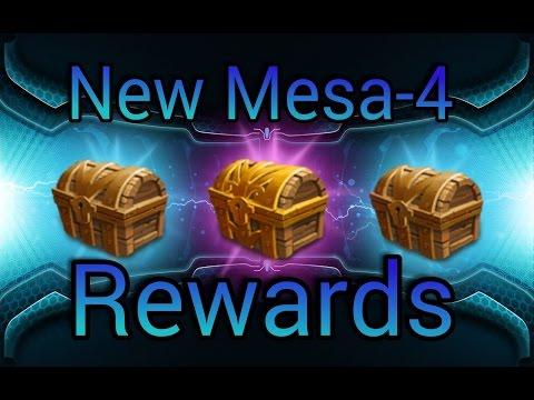 Castle Clash  New Mesa-4 Chest Rewards