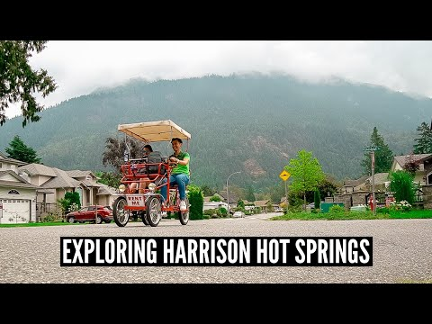 FUN GETAWAY NEAR VANCOUVER: Harrison Hot Springs, BC // Nat And Max