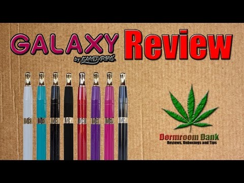 Galaxy Dab Pen by Kandy Pens Review [Portable Dabbing Pen]