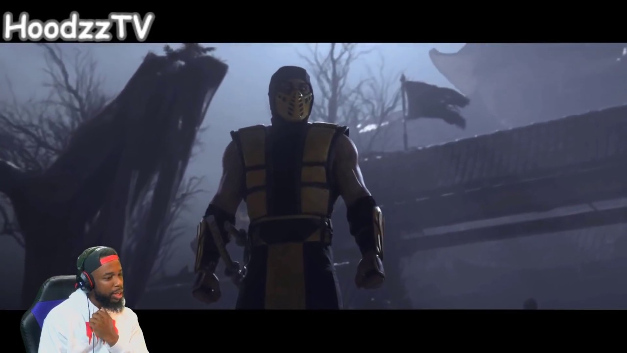 CashNasty Reacts To Mortal Kombat 11 Official Announce Trailer 🔥 - YouTube