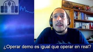 ¿Operar demo es idéntico a operar cuenta real?