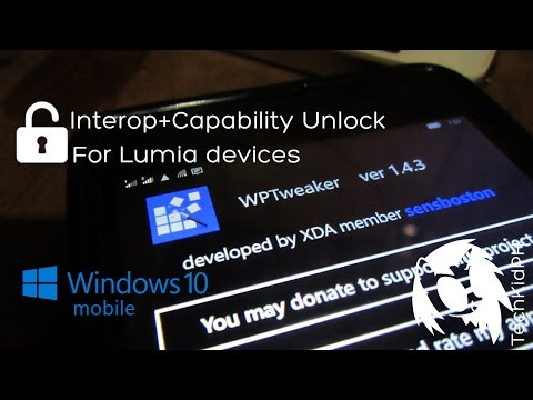 How to Interop Unlock any Lumia running Windows 10 Mobile