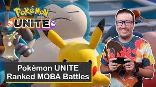 Ranked Battles on Pokémon UNITE for Nintendo Switch