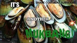 GREEN LIP MUSSEL AND EGG MUKBANG | DONT WIPE YOUR MOUTH CHALLENGE.