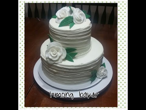 how-to-make-a-simple-2-tier-wedding-cake