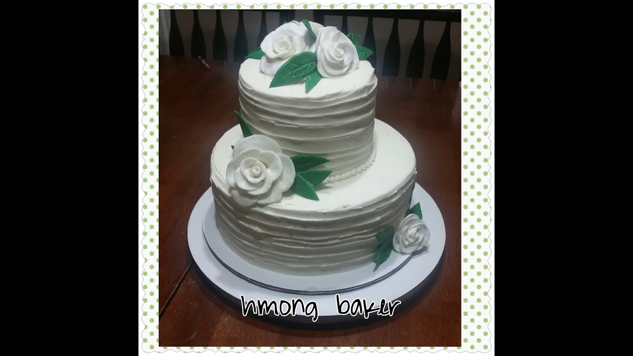 how to make a simple wedding cake how to make a simple 2 tier wedding cake 15844
