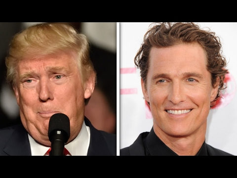 Matthew McConaughey: Embrace Trump