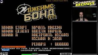 James Bond Jr. прохождение x2 | Игра на (Dendy, Nes, Famicom, 8 bit) Data East . Live cтрим HD [RUS]