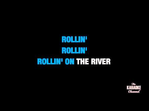 """Proud Mary in the Style of """"Creedence Clearwater Revival"""" with lyrics (with lead vocal)"""