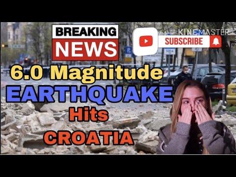 BREAKING NEWS – ZAGREB CROATIA HIT BY 6.0 DEVASTATING EARTHQUAKE MARCH 22, 2020