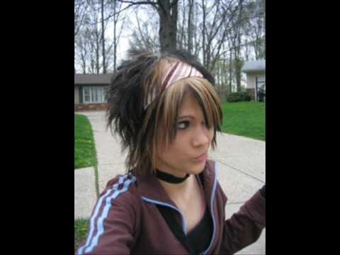 scene emo hairstyles