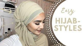 Easy Hijab Styles I Chiffon Hijab
