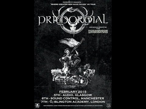 Primordial (IRL) - Live at the Audio, Glasgow 5th February 2015 FULL SHOW HD