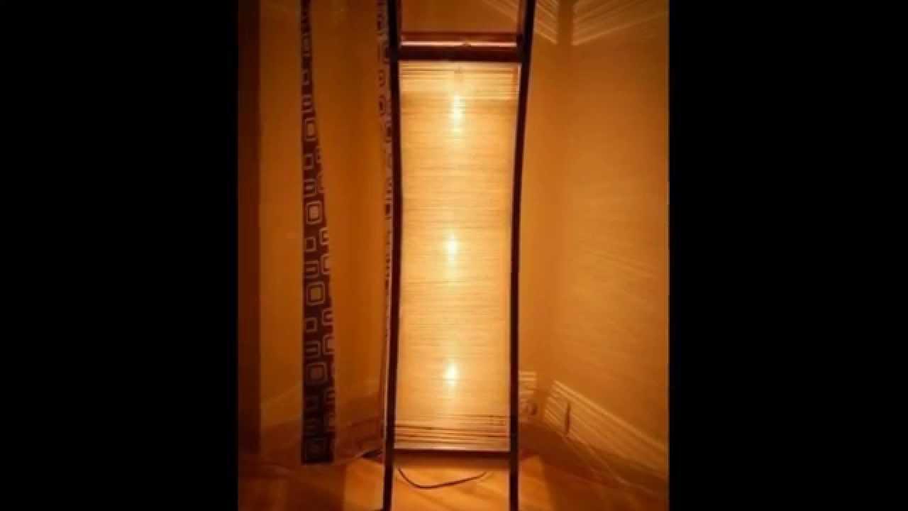Напольный светильник своими руками фото 394
