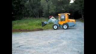 Benco, Tracteur utilitaire TU900, Mini chargeur très rapide
