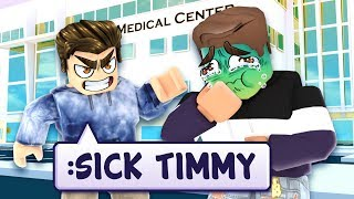 I used ROBLOX ADMIN to put people in the HOSPITAL!