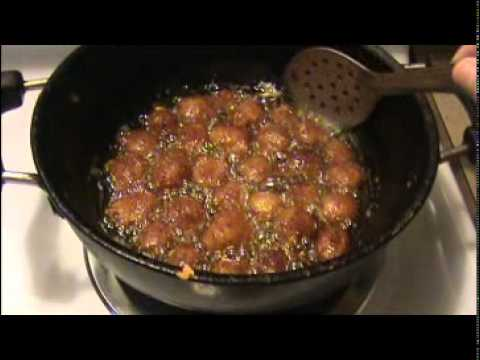 Image result for frying soya chunks manchurian pics